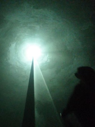 Installation artwork Anthony McCall (LaM)