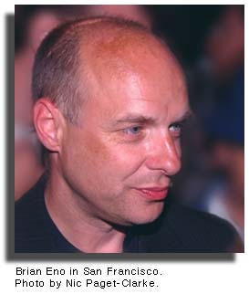 Brian Eno (photo by Nic Paget-Clarke)