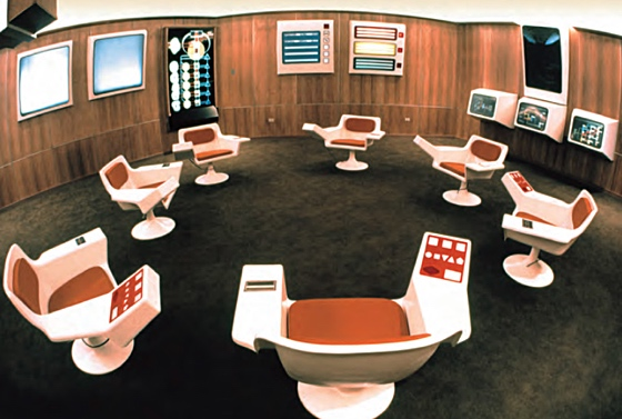 The Cybersyn ops room